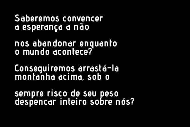 [Conteúdo] Poemas para reativar o corpo social