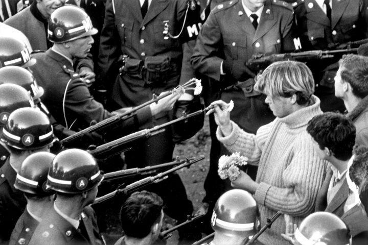 [Conteúdo] Manifestações contra a guerra do Vietnã